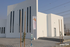 3D printed building by Apis Cor in Dubai