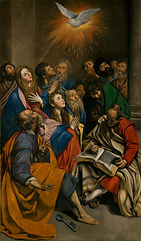 Maino_Pentecostés._Lienzo._285_x_163_cm.