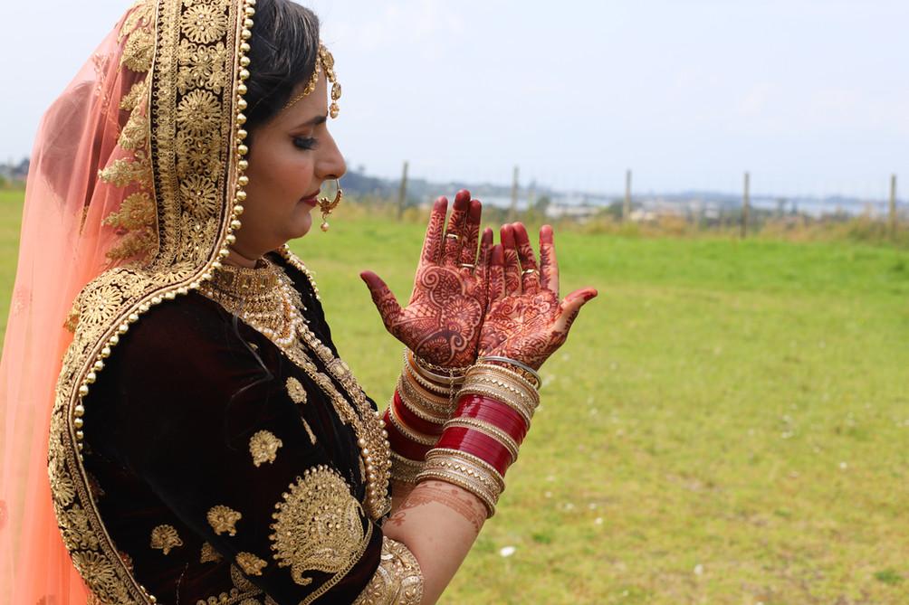 heena Wedding Photoshoot