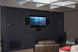 Custom Flat Panel TV Install...