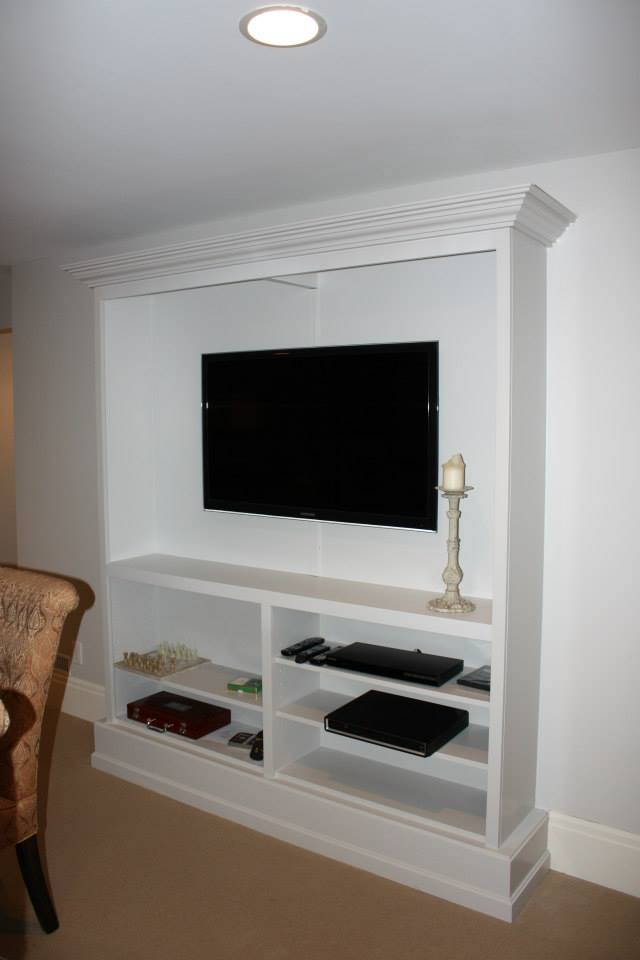Custom Flat Screen Installation