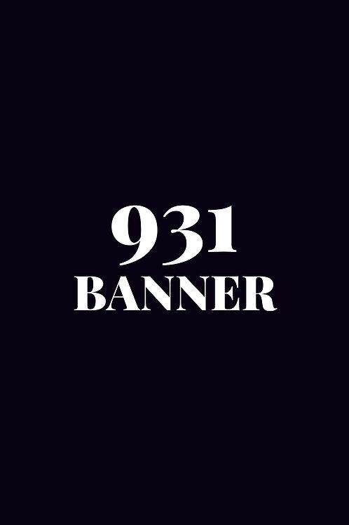 Banner - 931
