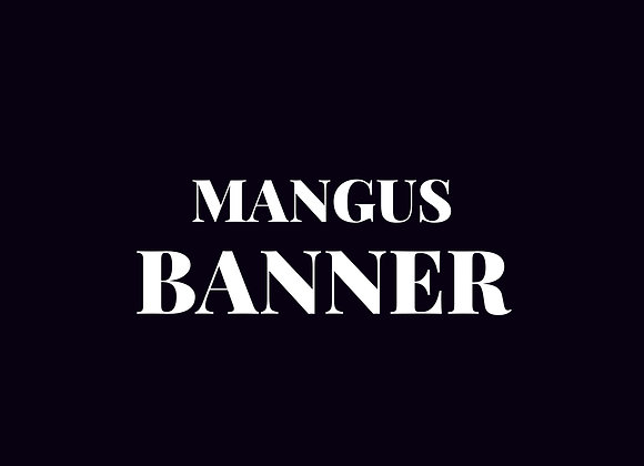 Banner - Mangus