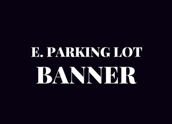 Banner - East Parking Lot