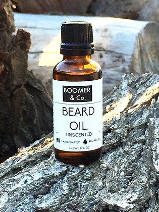 Boomer & Co. Beard Oil