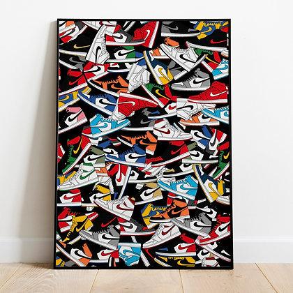 Nike Sneakers poster