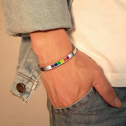 Rainbow armband