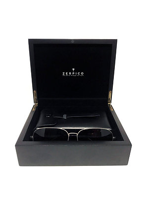 Titanium Aviator Sunglasses Gift Box
