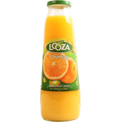 Jus d'orange literfles