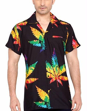 CLUB CUBANA Floral Hawaiian Shirt