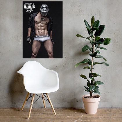 Matte paper poster