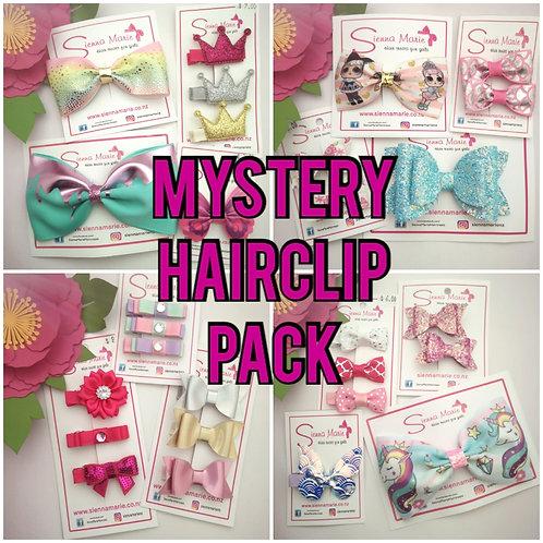 MYSTERY HAIRCLIP PACK. MIN $20 Value