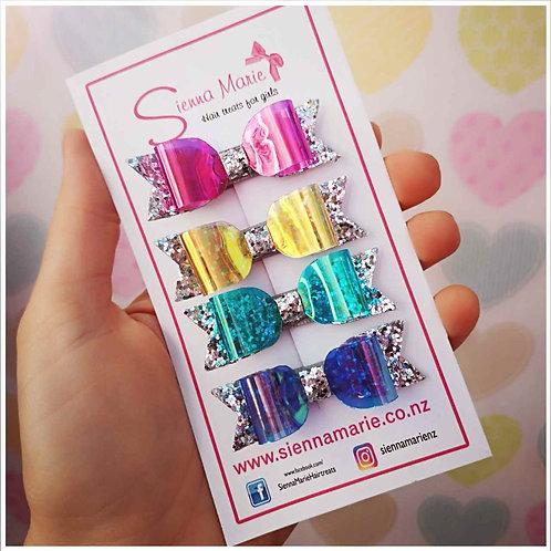 Jewel Mini Bow Set