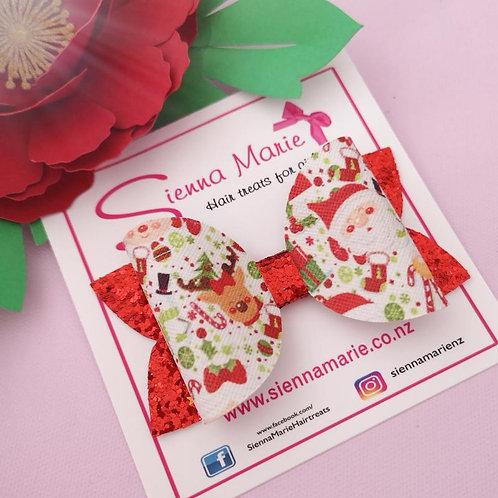 Christmas Print  Bow