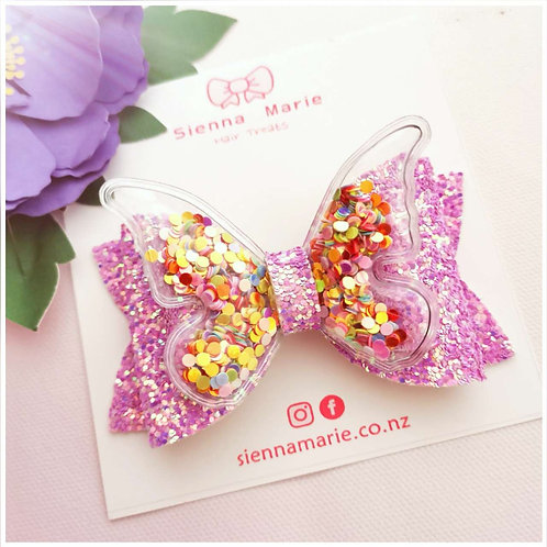 Butterfly shaker bow