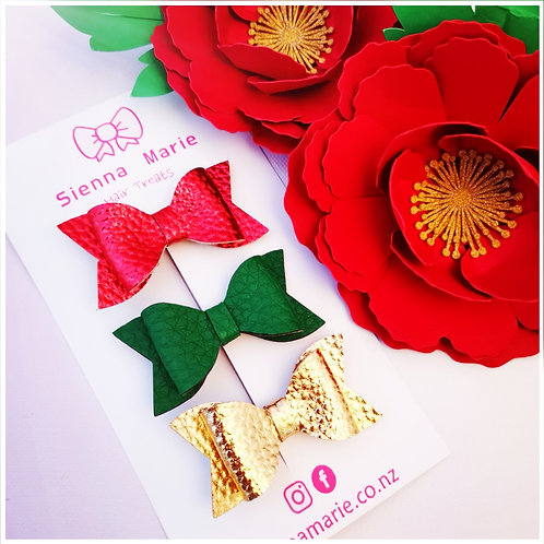 Christmas mini bows,