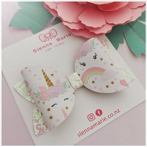 SUPER SALE - Sweet unicorn bow