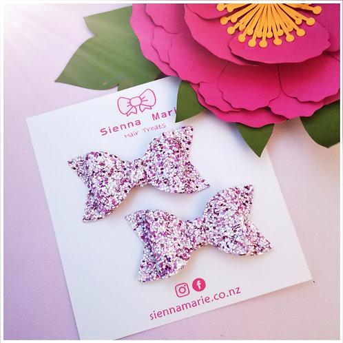 Confetti Glitter Mini Bows