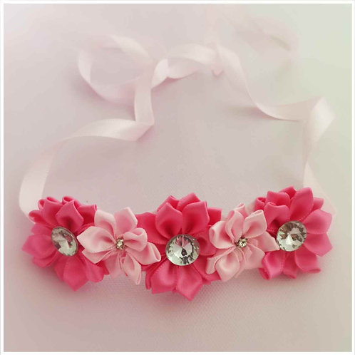 Pinks ballet bun wrap