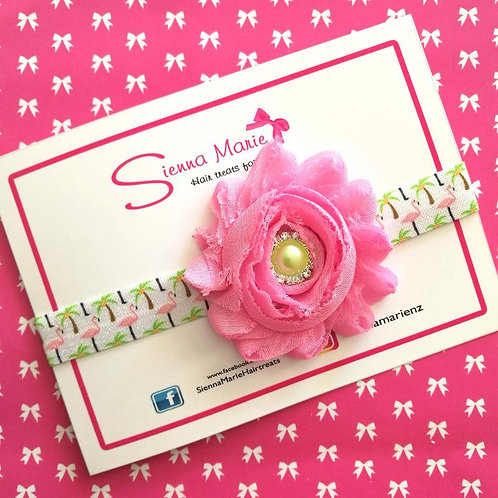 Pink Flamingo Headband