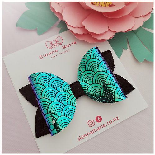 SUPER SALE - Mermaid scales bow
