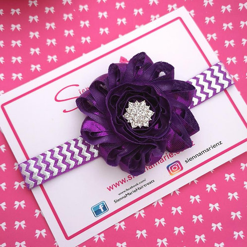 Shimmer Chevron Headband