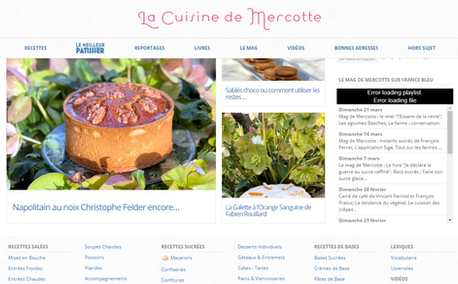 Article La Cuisine de Mercotte