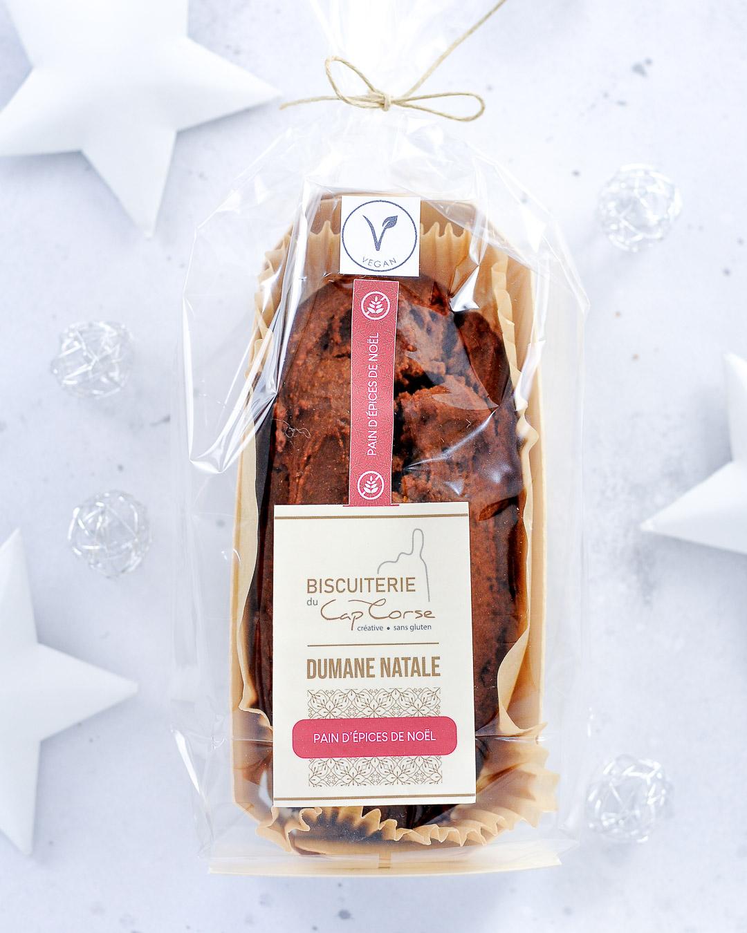 Cake pain d'épices Vegan