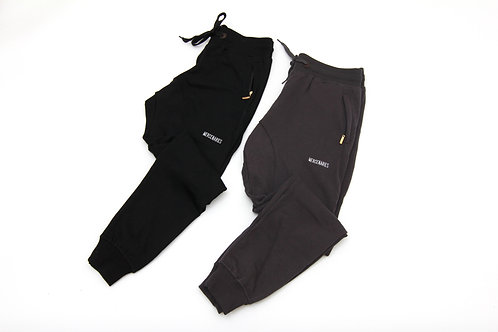 Tapered Letterman Sweatpants