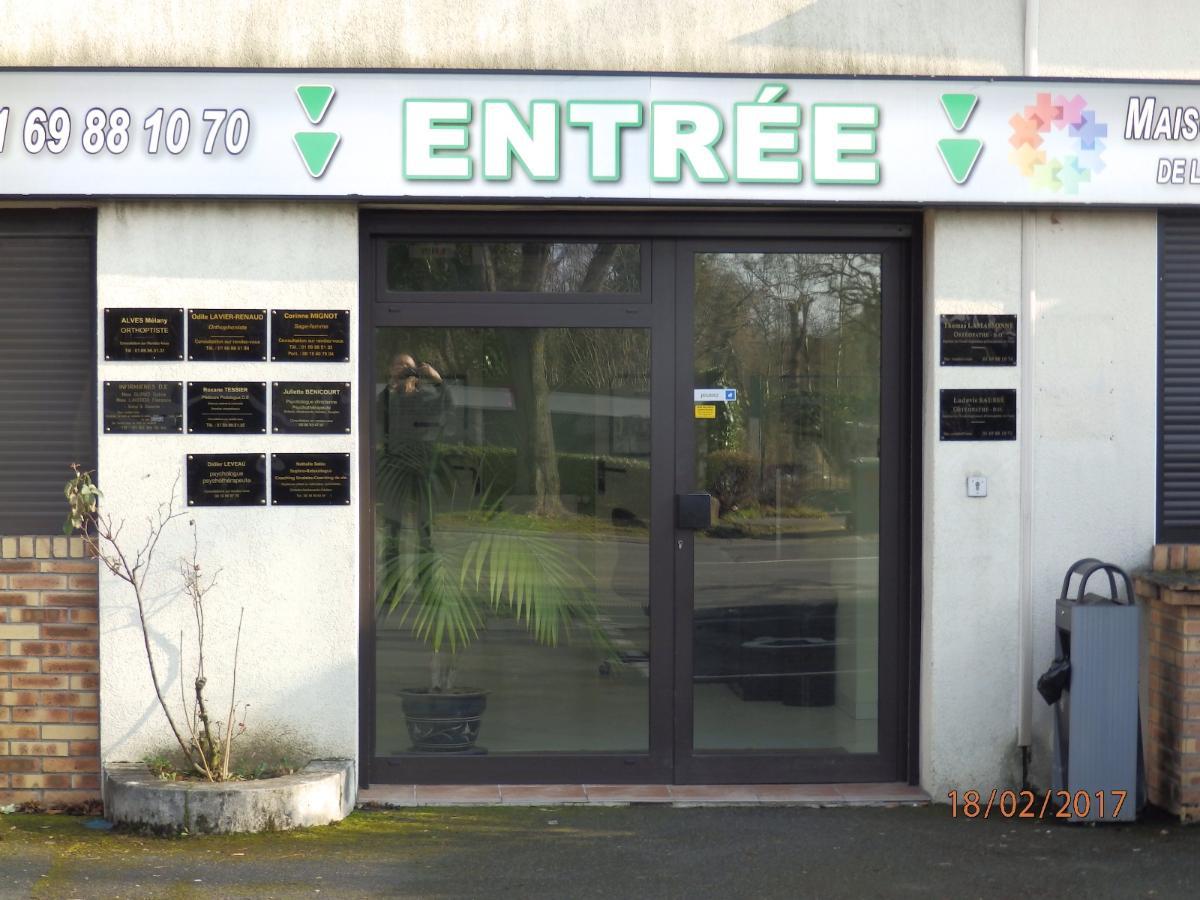 Entrée Cabinet Didier Leveau
