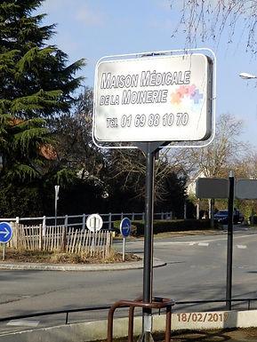 Panneau Maison Médicale de la Moinerie