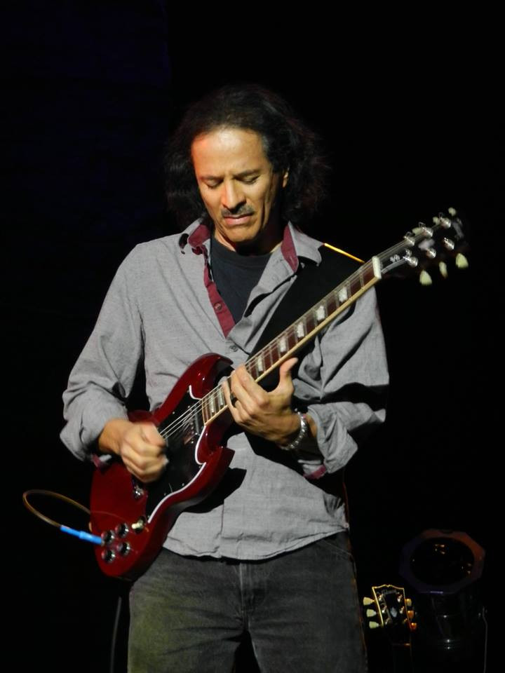Larry Rousseve on Guitar