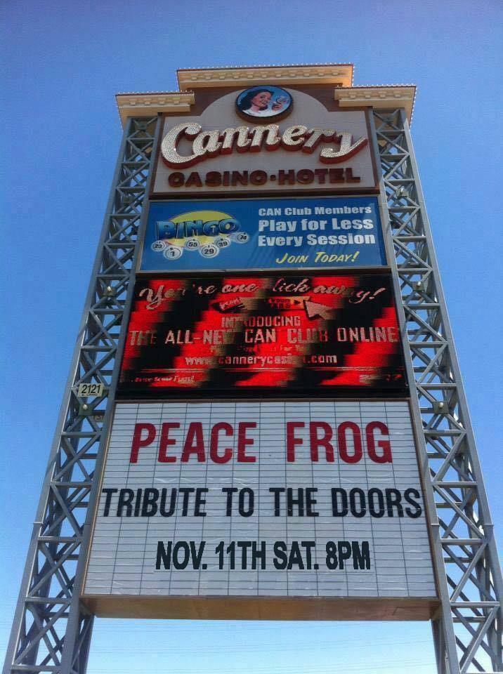 Cannery Casino Las Vegas Residency since 2003