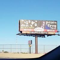 Roadside Billboard: on to Vegas