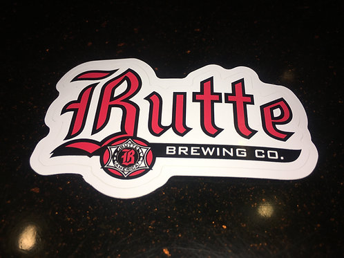 Butte Sticker