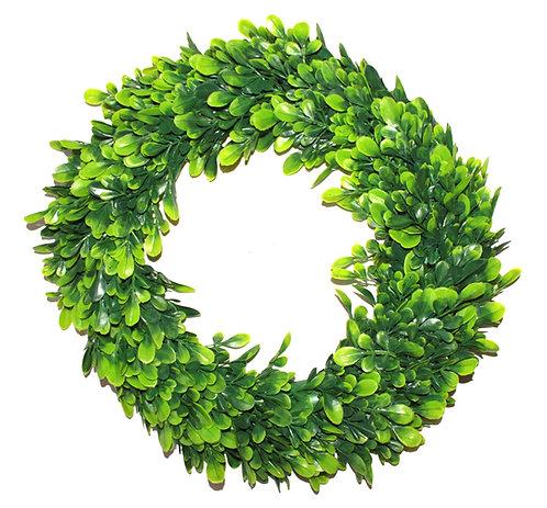 36cm Boxwood Wreath, Door Hanger - Christmas,Artificial,Fake,DIY Decorate,Indoor