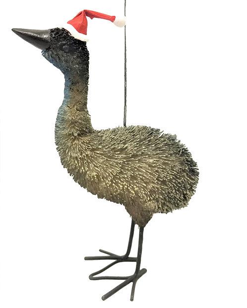EMU - LARGE CHRISTMAS TREE HANGING ORNAMENT - AUSTRALIAN BIRD