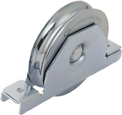 425.90/20 - WHEEL WITH INSIDE SUPPORT ROUND GROOVE- SLIDING GATES- COMBI ARIALDO