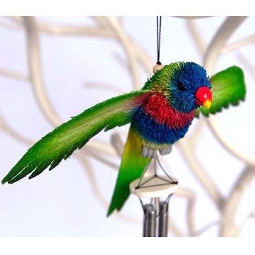 Windchime, Wind Chime, Mobile - Rainbow Lorikeet Bird - Australia Gift, Souvenir