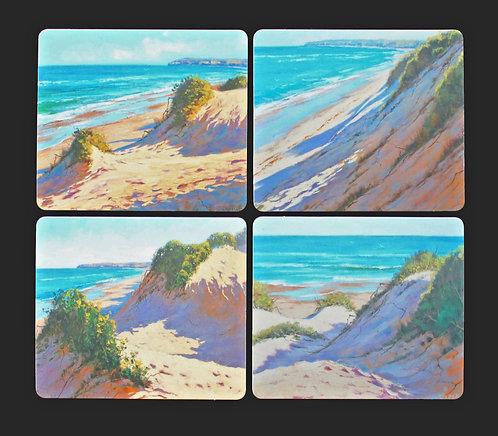4 Coasters - Australian Seascapes