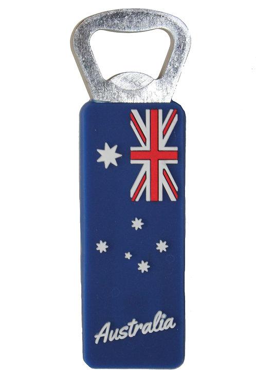 1 x Australian Flag Bottle Opener - Aussie Flag, Australia Day, Aussie Day