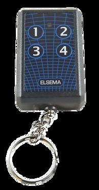 ELSEMA KEY-304 - 4 BUTTON REMOTE CONTROL / TRANSMITTER - 6V, 27 Mhz