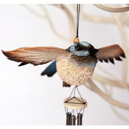 Windchime, Wind Chime, Mobile - Blue Wren Bird - Australia, Gift, Souvenir