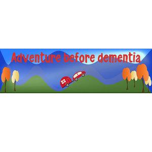 Bumper Sticker, 22x6cm - Adventure Before Dementia - Nomad,Car,Caravan,Motorhome