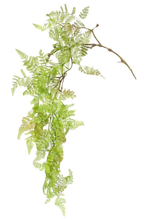 Fern Hanging Bush, 95cm - Artificial, Fake, Vase, Indoor Decor, Pot Plant, DIY