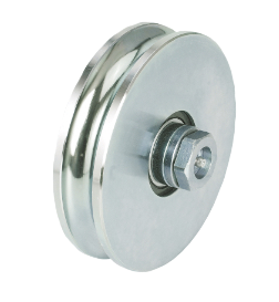 440.140 -GREASE CUP WHEEL ROUND GROOVE 2 BEARINGS - SLIDING GATE - COMBI ARIALDO
