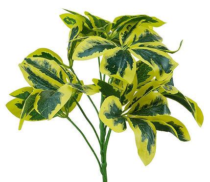 Euonymus Bush Pick, 34cm - Artificial,Fake,Indoor Decor,Vase,Pot Plant,Greenery