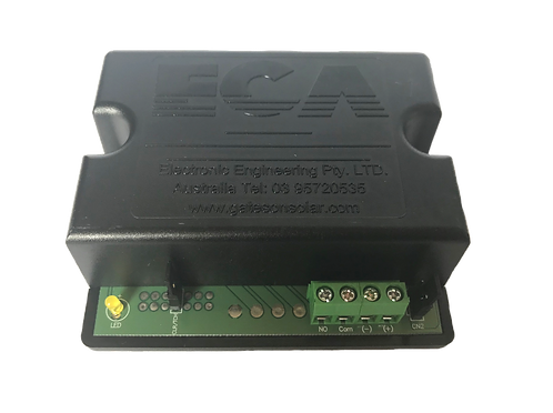 GATE OPENING SYSTEMS (GOS)- 1 CHANNEL ROLLING CODE RECEIVER - 433.92Mhz - 12/24V