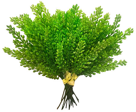 5 x Green Berry Picks, 26cm - Artificial,Fake,Vase,Indoor Decor,Plant,Bouquet