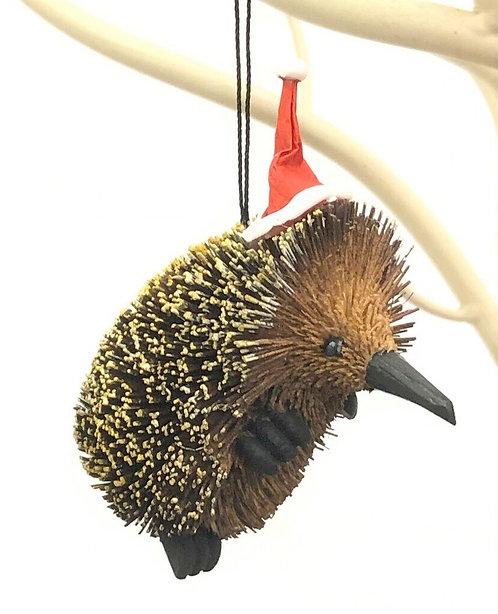 Echidna - Christmas Tree Hanging Ornament - Australian Animal